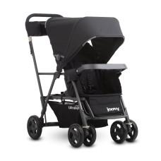 Прогулочная коляска для двойни или погодок JOOVY Caboose Ultralight Graphite