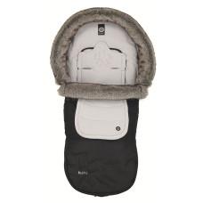 Одеяло-мешок для колясок KIDDY Mix match foot muff с мехом
