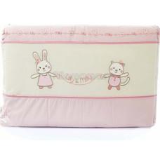 Бортик FUNNABABY Lily Milly короткий для кровати 120х60 см