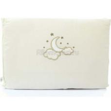 Бортик FUNNABABY Luna Elegant короткий для кровати 120х60 см