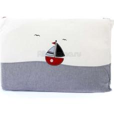 Бортик FUNNABABY Marine короткий для кровати 120х60 см