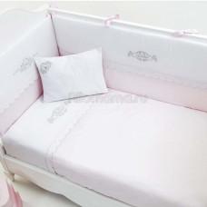 Постельное белье FUNNABABY Princess 5 предметов 120х60 см