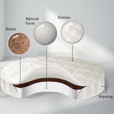 Матрас круглый BabySleep NUOVITA Nido Magia Form Cotton 75х75 см
