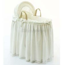 Корзина FUNNABABY Premium Baby плетеная с капюшоном