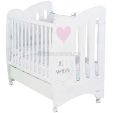 Детская кроватка MICUNA Wonderful 120х60 см