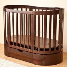 Детская кроватка Красная Звезда (Можга) Паулина-4 С-324 (маятник продольный)