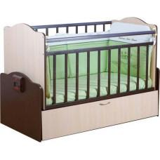 Детская кроватка с автоматическим маятником УКАЧАЙ-КА 02 120х60 см