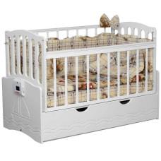 Детская кроватка с автоматическим маятником УКАЧАЙ-КА 03 120х60 см