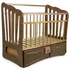 Детская кроватка с автоматическим маятником УКАЧАЙ-КА 06 Валенсия 120х60 см