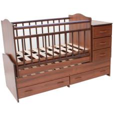 Детская кроватка-трансформер Ведрусс Раиса (маятник)