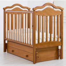 Детская кроватка ГАНДЫЛЯН Анжелика 120х60 см (универсальный маятник)