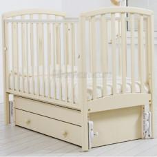 Детская кроватка ГАНДЫЛЯН Дашенька 120х60 см (маятник универсальный)