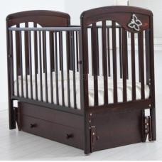 Детская кроватка ГАНДЫЛЯН Джулия 120х60 см (маятник универсальный)