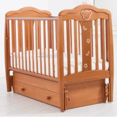 Детская кроватка ГАНДЫЛЯН Мишель120х60 см (маятник универсальный)