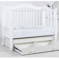 Детская кроватка ГАНДЫЛЯН Моника 120х60 см (маятник универсальный)