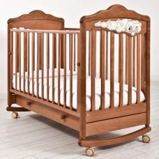 Кроватка детская ANGELA BELLA Изабель (колесо-качалка)