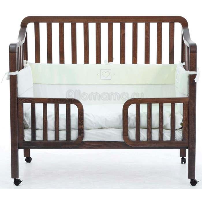 Детская кроватка с бортиком FIORELLINO Nika 120х60 см