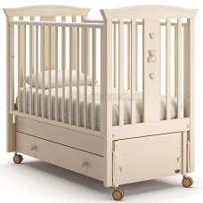 Детская кровать NUOVITA Fasto swing с продольным маятником