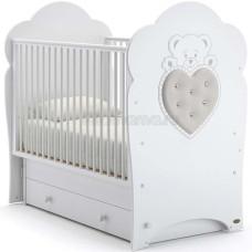 Детская кровать NUOVITA Fortuna swing с поперечным маятником