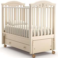 Детская кровать NUOVITA Lusso swing с продольным маятником