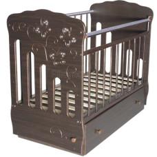 Детская кроватка Островок Уюта Бабочка (поперечный маятник)