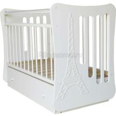 Детская кроватка Островок Уюта Вояж (поперечный маятник)