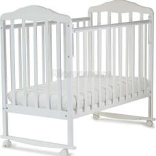 Кровать детская SKV company Берёзка New колесо-качалка