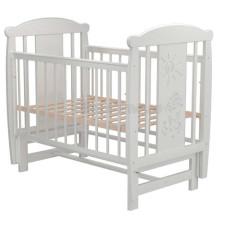 Кроватка для новорожденного VALLE Кот 04 маятник поперечный без ящика