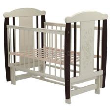 Кроватка для новорожденного VALLE Зайка 05 маятник продольный без ящика