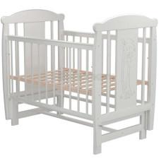 Кроватка для новорожденного VALLE Жираф 04 маятник поперечный без ящика