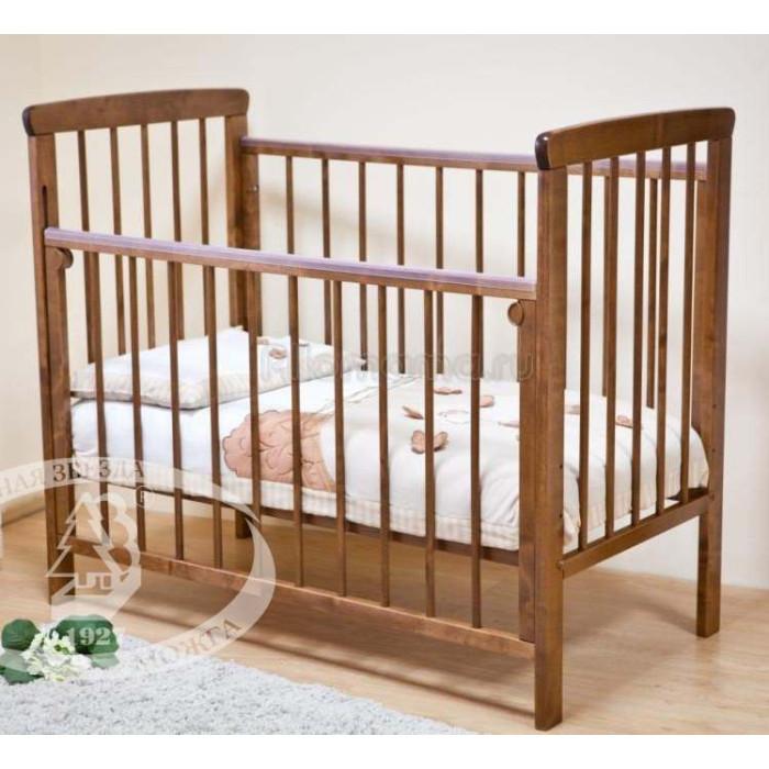 Кроватка детская Красная Звезда Машенька С-237 (колесо)