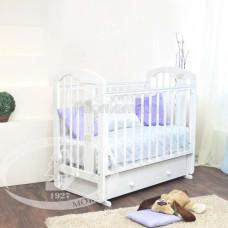 Детская кроватка Красная Звезда (Можга) Агата С 719 (поперечный маятник) накладка-ростомер №11