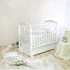 Детская кроватка Красная Звезда (Можга) Руслан С-725 (маятник) резьба №18
