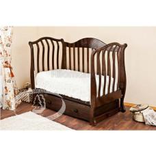 Детская кроватка Красная Звезда (Можга) Юлиана С 878 (поперечный маятник) аппликация №26 Кошка