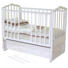 Детская кроватка Красная Звезда (Можга) Ангелина С 676 (продольный маятник)