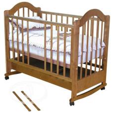 Кроватка детская Красная Звезда Злата С-353 (колесо)