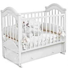 Детская кроватка Красная Звезда (Можга) Ефросинья С 554 (продольный маятник) аппликация №53 Пальметта