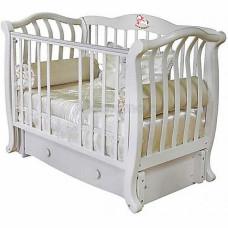 Детская кроватка Красная Звезда (Можга) Юлиана С 757 (продольный маятник) аппликация №2 Лошадка