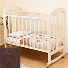 Детская кроватка Красная Звезда (Можга) Вилона С 703 накладка Жираф (качалка)