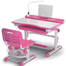 Детская парта и стул MEALUX BD-04 New с лампой