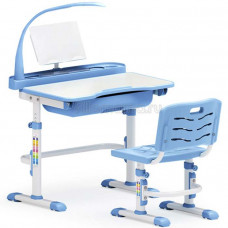 Детская парта и стул MEALUX EVO-17 с лампой