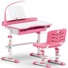 Детская парта и стул MEALUX EVO-18 с лампой