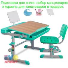 Детская парта и стул MEALUX EVO 04 XL