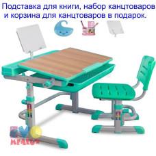 Детская парта и стул MEALUX EVO 04