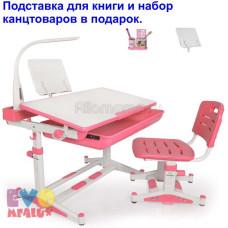 Детская парта и стул MEALUX BD-04 New XL с лампой