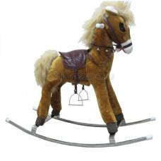 Лошадь-качалка на металических полозьях