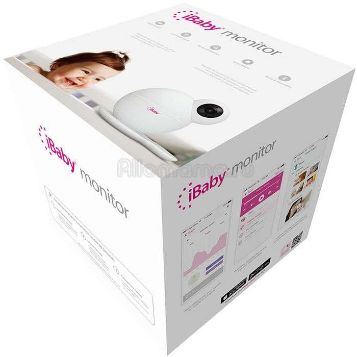 Видеоняня IBABY Monitor M6S Wi-Fi