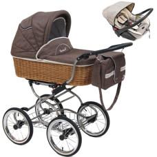 Коляска для новорожденного+автокресло REINDEER Wiklina Eco-Line