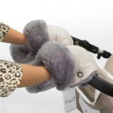 Муфта - рукавички для коляски Esspero Christoffer (Натуральная шерсть)