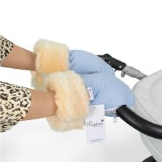 Муфта-рукавички для коляски ESSPERO Double (Натуральная шерсть)